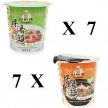 杯麵綜合組(14杯)